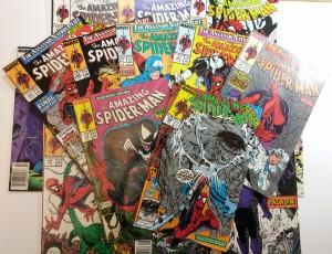 Amazing Spider-Man Lot Run #s 303 - 328 Venom Hulk (14 Books) 315 316