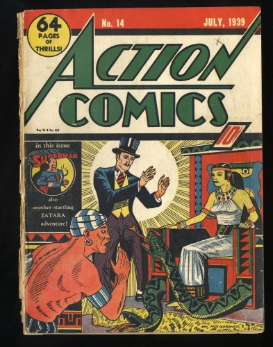 Action Comics #14 Inc 0.3 INCOMPLETE