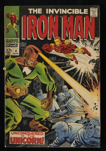 Iron Man #4 VG- 3.5