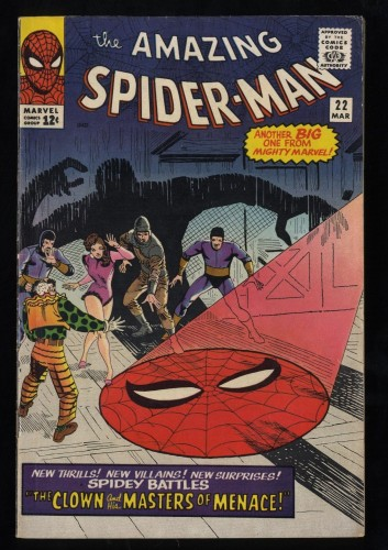 Amazing Spider-Man #22 FN 6.0 White Pages