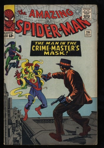 Amazing Spider-Man #26 FN- 5.5 Green Goblin