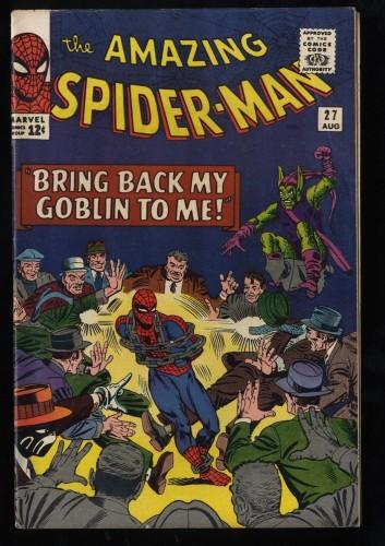 Amazing Spider-Man #27 FN- 5.5 Green Goblin