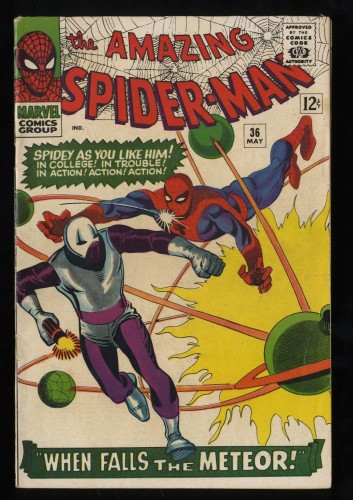Amazing Spider-Man #36 VG/FN 5.0