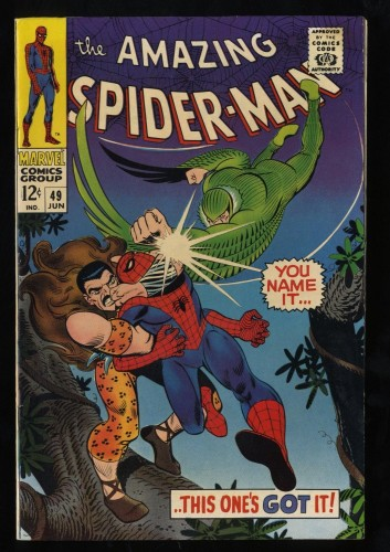 Amazing Spider-Man #49 VF/NM 9.0 White Pages