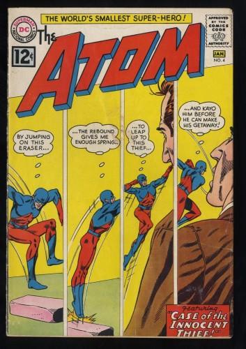 Atom #4 VG+ 4.5