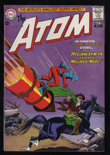 Atom #6 VG+ 4.5
