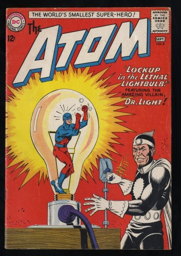 Atom #8 VG- 3.5 2nd Dr. Light!