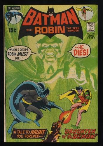 Batman #232 FN 6.0 1st Ra's al Ghul!