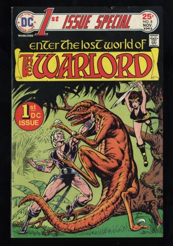 1st Issue Special #8 FN+ 6.5 White Pages 1st Warlord!