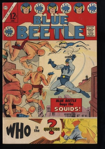 Blue Beetle (1967) #1 VF- 7.5 1st Question!