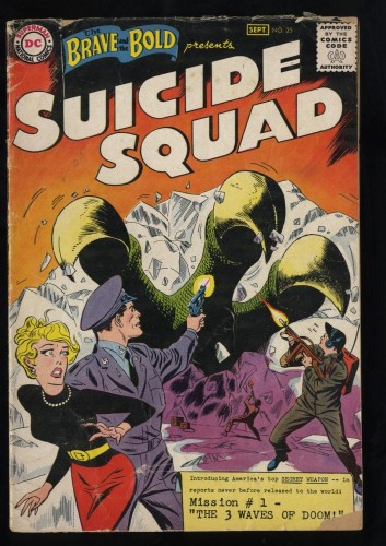 Brave And The Bold #25 GD 2.0 1st Suicide Squad!
