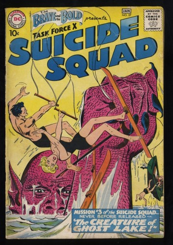 Brave And The Bold #27 VG- 3.5 3rd Suicide Squad!