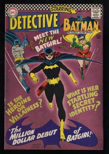 Detective Comics #359 FN 6.0 1st Batgirl!