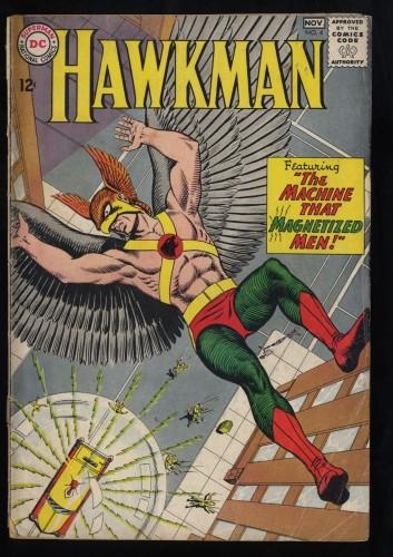 Hawkman #4 GD 2.0 1st Zatanna!