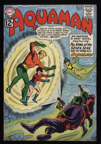 Aquaman #4 FN/VF 7.0