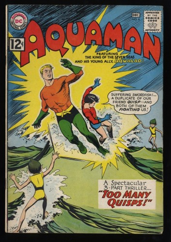 Aquaman #6 VG+ 4.5