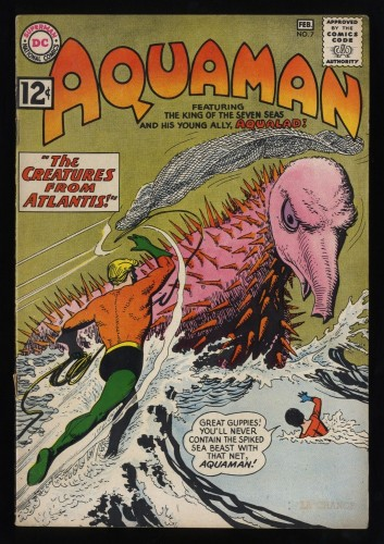 Aquaman #7 VG+ 4.5
