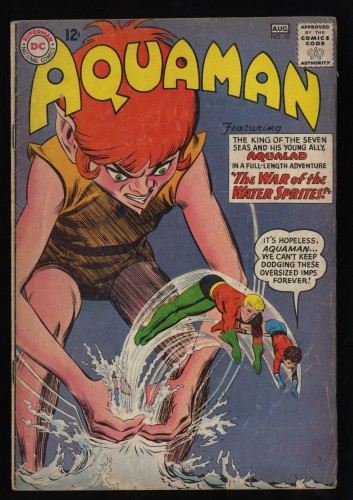 Aquaman #10 GD+ 2.5