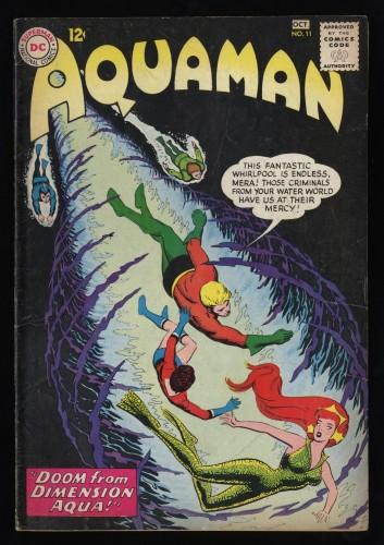 Aquaman #11 VG- 3.5