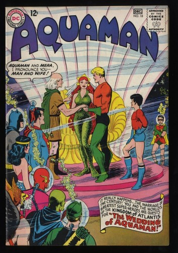 Aquaman #18 VF+ 8.5 Wedding of Aquaman!