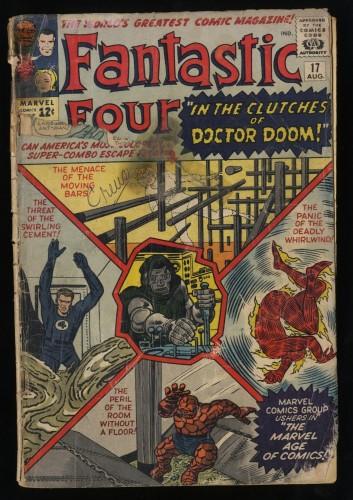 Fantastic Four #17 P 0.5