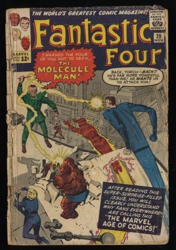 Fantastic Four #20 P 0.5