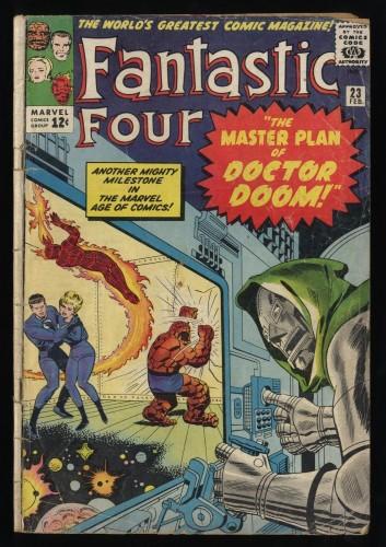 Fantastic Four #23 Fair 1.0
