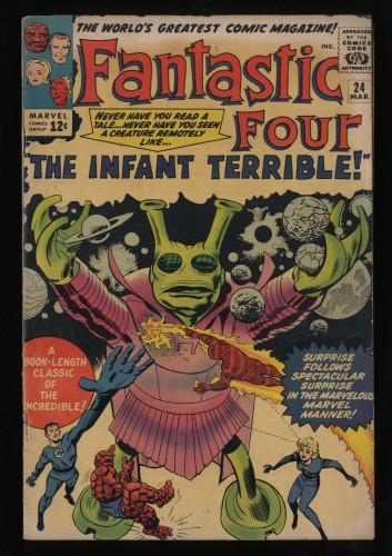 Fantastic Four #24 VG 4.0