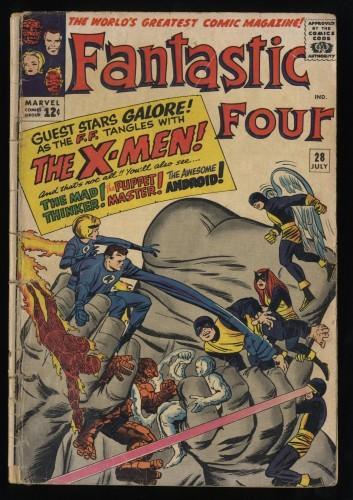 Fantastic Four #28 Fair 1.0