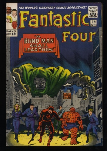 Fantastic Four #39 VF 8.0
