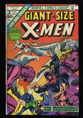 Giant-Size X-Men #2 VG+ 4.5