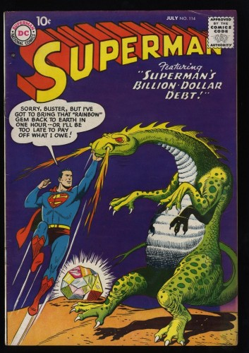 Superman #114 FN 6.0