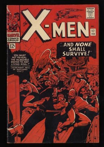 X-Men #17 VG/FN 5.0
