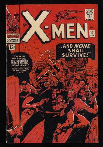 X-Men #17 VG/FN 5.0 White Pages