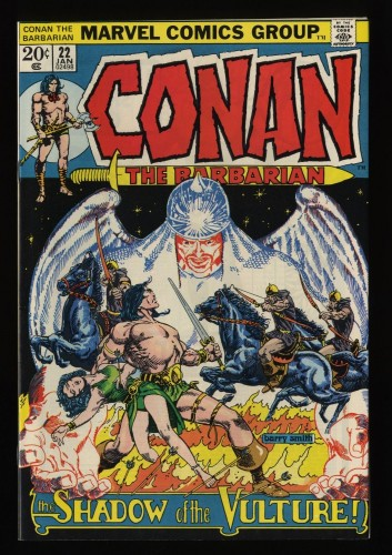 Conan The Barbarian #22 NM 9.4 White Pages