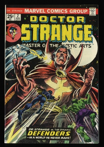Doctor Strange #2 NM 9.4 White Pages