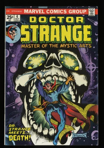 Doctor Strange #4 VF/NM 9.0 White Pages