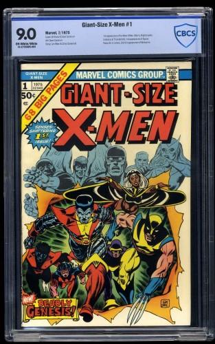 Giant-Size X-Men #1 CBCS VF/NM 9.0 Off White to White
