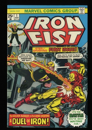 Iron Fist #1 NM- 9.2 White Pages