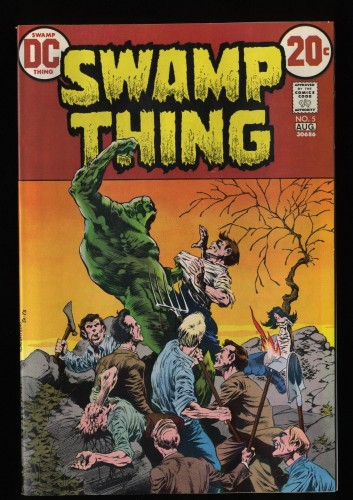 Swamp Thing #5 NM 9.4 White Pages