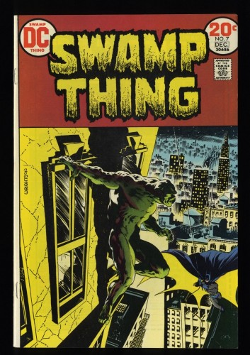 Swamp Thing #7 NM- 9.2 White Pages