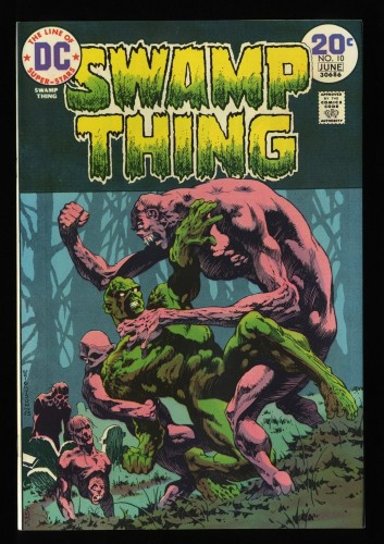 Swamp Thing #10 NM+ 9.6 White Pages