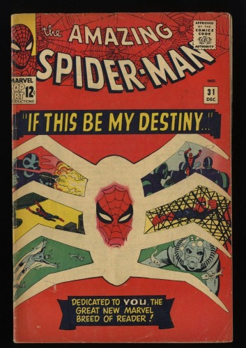 Amazing Spider-Man #31 GD/VG 3.0 1st Gwen Stacy!
