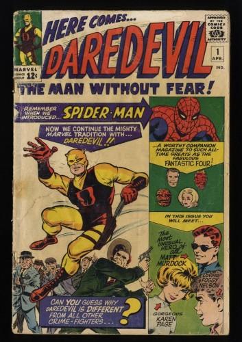 Cover Scan: Daredevil #1 FA/GD 1.5