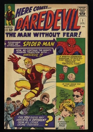 Daredevil #1 FN+ 6.5