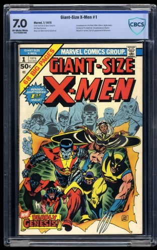 Cover Scan: Giant-Size X-Men #1 CBCS FN/VF 7.0 Off White to White