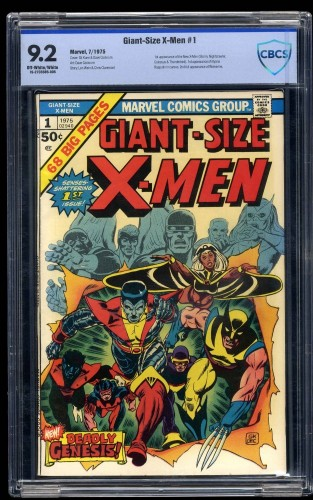 Giant-Size X-Men #1 CBCS NM- 9.2 Off White to White