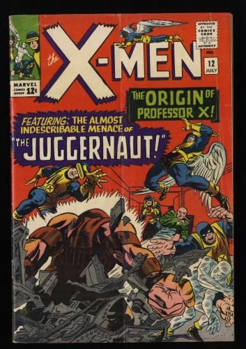 X-Men #12 GD/VG 3.0 1st Juggernaut!