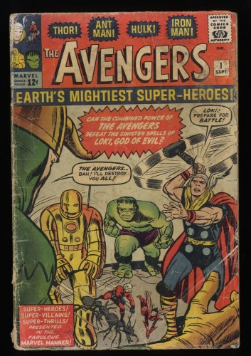 Cover Scan: Avengers #1 FA/GD 1.5