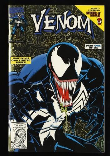 Venom: Lethal Protector Gold Foil Variant #1 NM+ 9.6